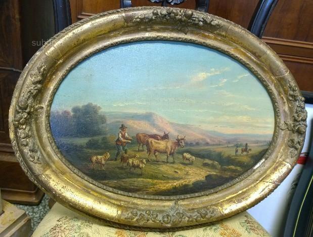 cornice-dorata-dipinto-olio-su-tavola-antico