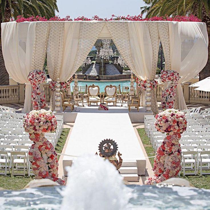 Outside Wedding Ceremony Edmonton: 226 Best Lavish Ceremonies Images On Pinterest