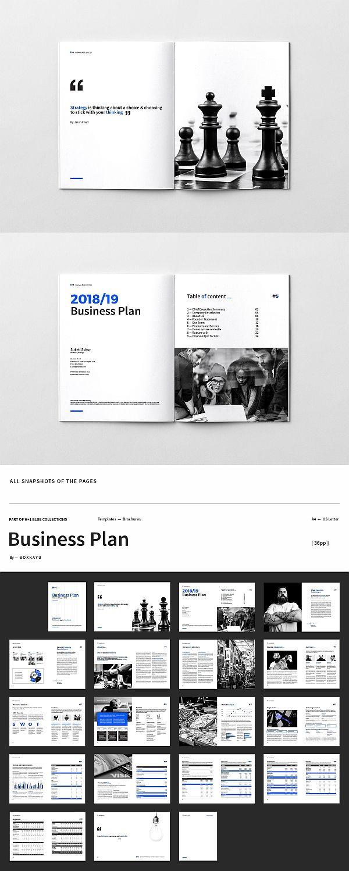 H 1 Business Plan Brochure Templates Business Plan Layout