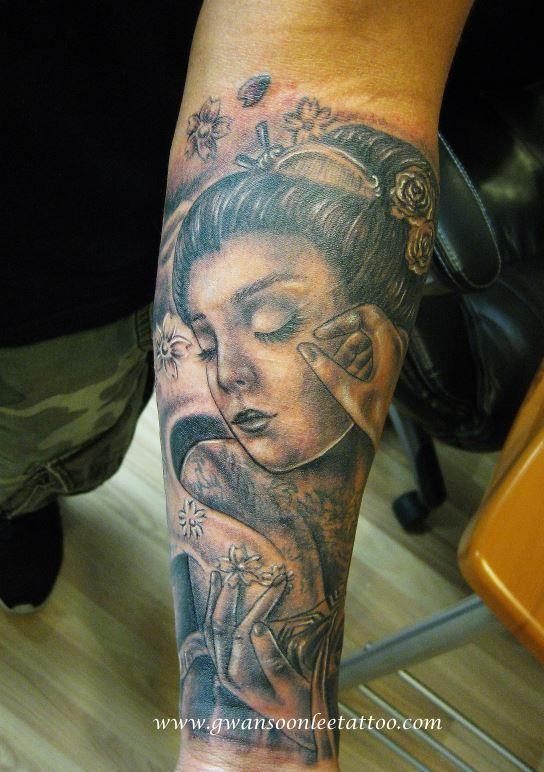 Portrait Tattoo Sleeve Ideas: Portrait Sleeve Tattoo Design