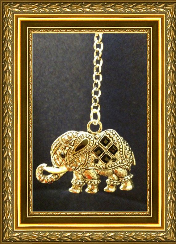 Elephant Ceiling Fan Pull Chain / Home Decor  Silver Link