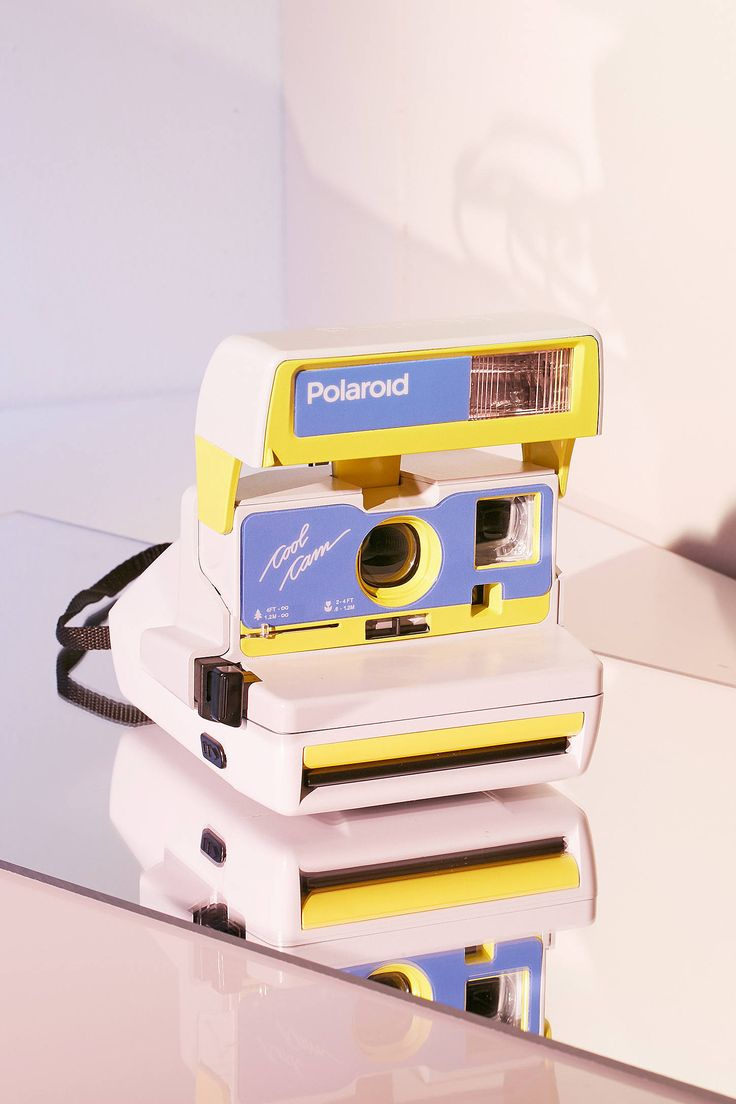 Slide View: 1: Impossible X UO Cool Oasis Polaroid 600 Cool Cam Instant Camera