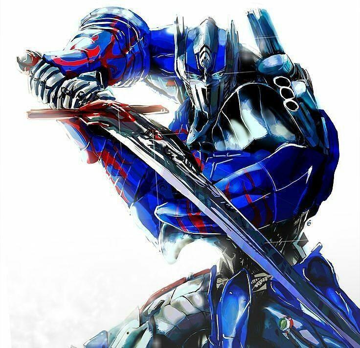 "Polubienia: 407, komentarze: 2 – Transformers News (@newstransformers) na Instagramie: ""Amazing #Repost @tf.beeprime_offiziell ・・・ Optimus Prime Picture Art Transformers 4-5…"""