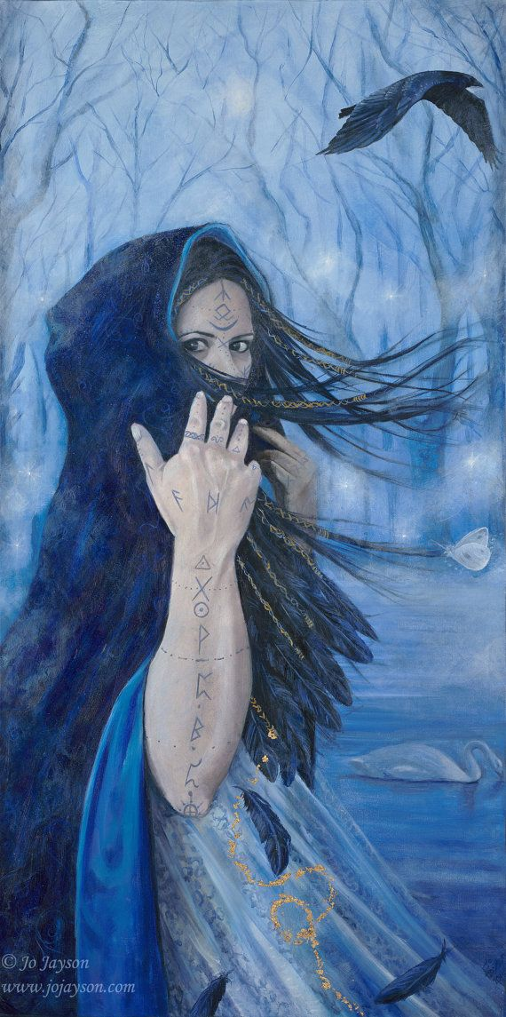"Morgan the Faery-Reproduction Giclee on canvas 24""x 48"""