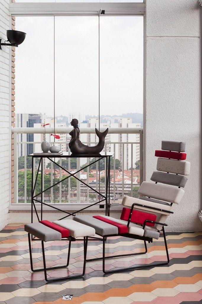 #excll #дизайнинтерьера #решения В каждой части этого интерьера есть свой собственный характер, который выражает креативный динамизм Бразилии, в котором самый главный ключ к успеху – это эклектика.
