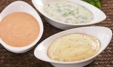 Dipper, sauser og dressinger