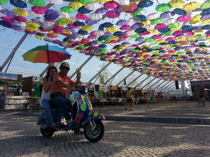 #Agitagueda2014 #Agueda #Art #Streets #umbrellas