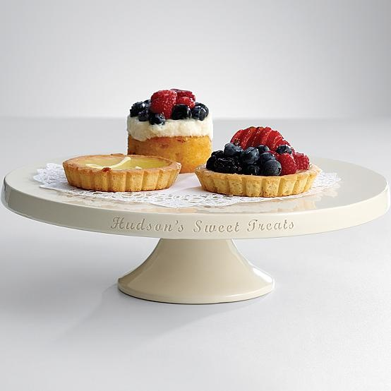 Delightful Perfect Gift For The Sweet Cook: Ceramic Dessert Stand