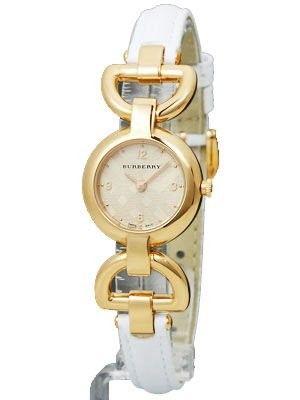 Relógio Burberry Women's Leather Strap Watch SWISS MADE MODEL BU5406 #Relogio #Burberry