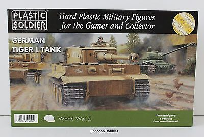 #Plastic soldier company - #15mm: ww2 german #tiger i tank ( suit flames of war ),  View more on the LINK: http://www.zeppy.io/product/gb/2/112057515982/