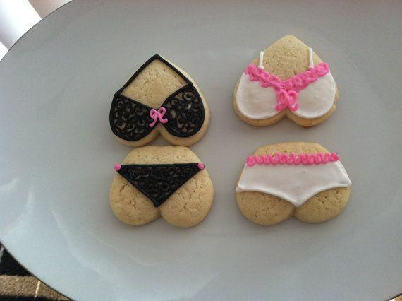 Naughty and Nice Bachelorette Cookies
