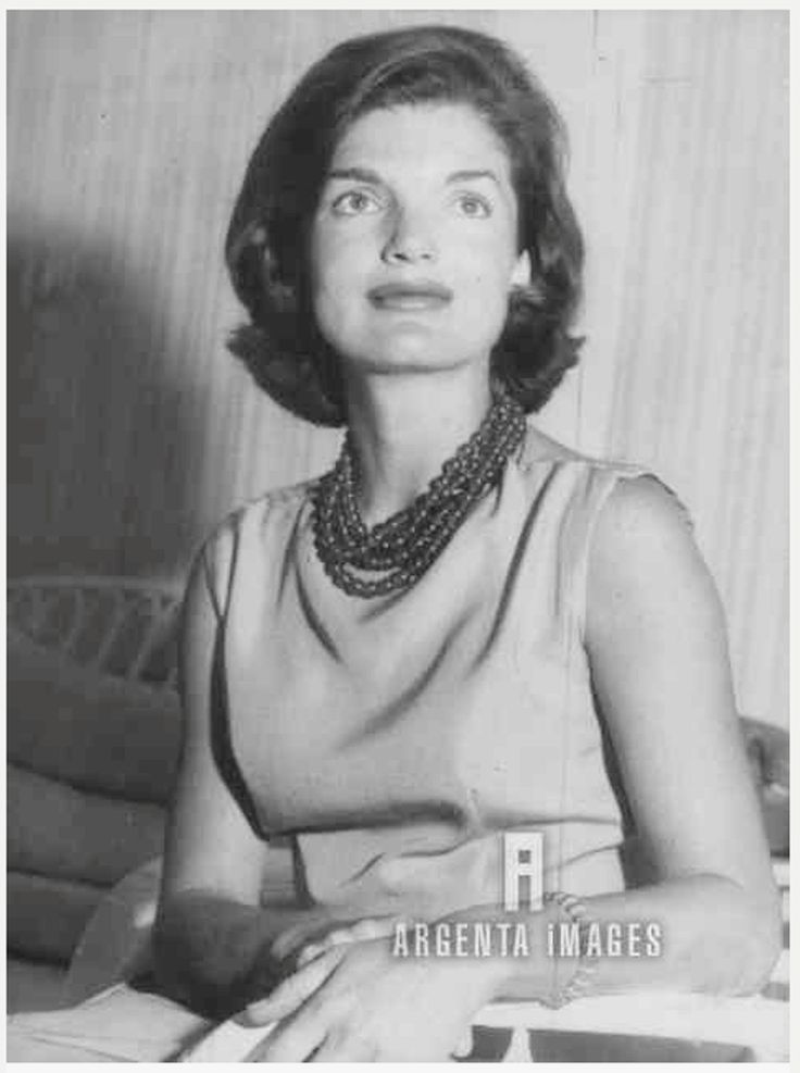 """First Lady Mrs ~~Jacqueline Lee (Bouvier) Kennedy Onassis """"Jackie"""" (July 28, 1929 – May 19, 1994). She is remembered for her contributions to the arts and preservation of historic architecture, her style, elegance, and grace. She was a fashion icon; her famous ensemble of pink Chanel suit and matching pillbox hat has become symbolic of her husband's assassination and one of the lasting images of the 1960s ❤❤❤♡❤♡❤❤❤♡ http://en.wikipedia.org/wiki/Jacqueline_Kennedy_Onassis"""
