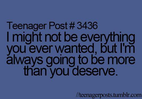 yes.Teenagers Life, Teenagers Post