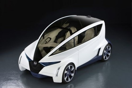 Honda P-NUT, Ultra-Compact car, Electric vehicle