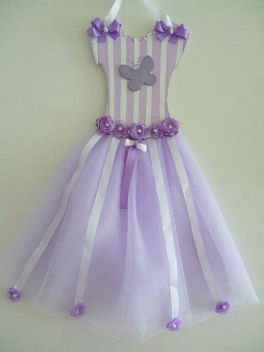 Tutu bow holder para ganchos y vinchas Facebook Crafts by Iris  @craftsbyiris