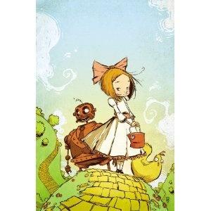 Ozma of Oz (Skottie Young) ISBN 978-0785142478 #books #comics