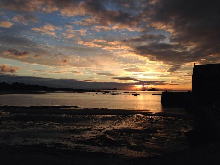 Sunset, North Berwick