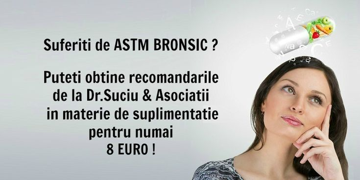 Photo drsuciu recomandari astm bronsic