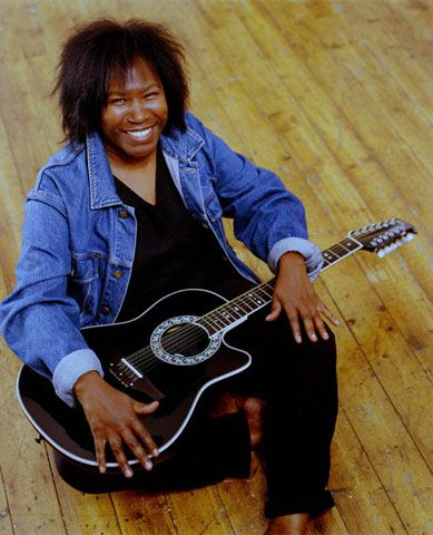 Joan Armatrading, MBE (1950- ) is a British singer, songwriter and guitarist. A 3-time Grammy Award-nominee and has been nominated twice for BRIT Awards as Best Female Artist & 1996 Ivor Novello Award for Outstanding Contemporary Song Collection. She has released a total of 18 studio albums, as well as several live albums and compilations. It is rumoured that she married her long-term partner Maggie Butler in 2011 but Armatrading refuses to discuss her personal life. She has no children.