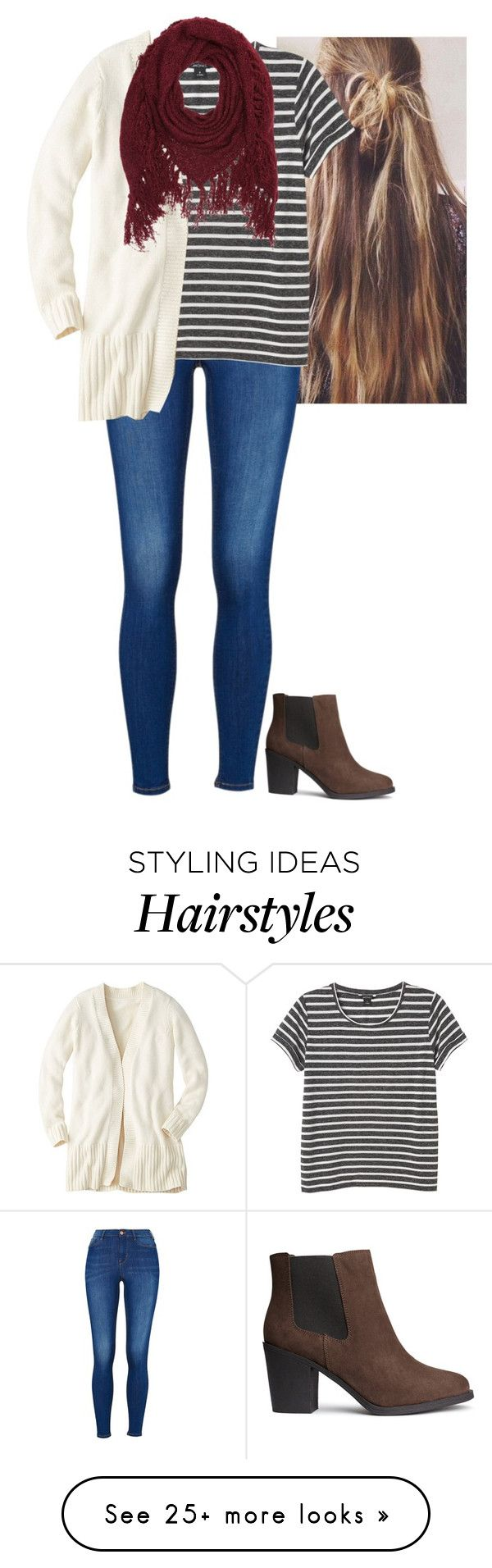"""""""Always Wear Your Invisible Crown"""" by morgantaylor37 on Polyvore featuring Monki, Charlotte Russe and H&M"""