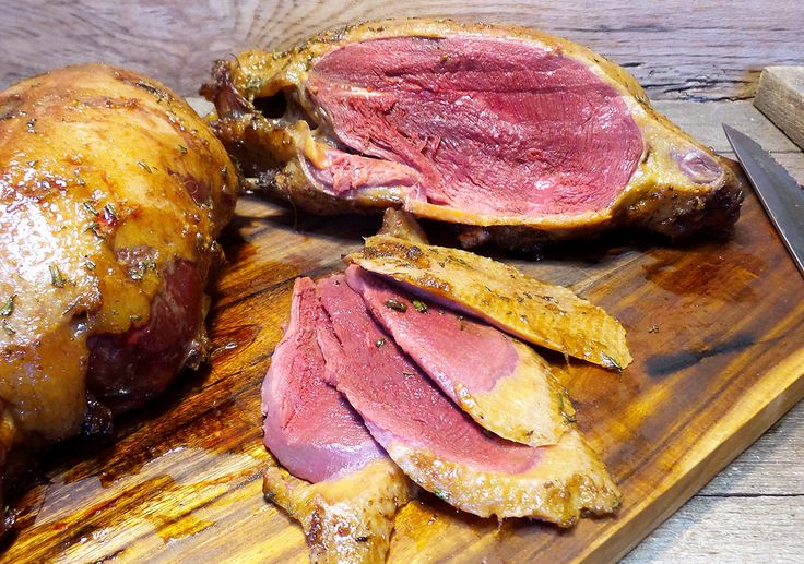 One of our favorite ways to cook mallards is to smoke them whole. This recipe borrows a few flavors from the traditional Chinese roasted duck, but gives them a Kentucky spin. The blend of Uncle Josh's Kentucky Sorghum with soy sauce, butter and diced rosemary give the skin a sweet...