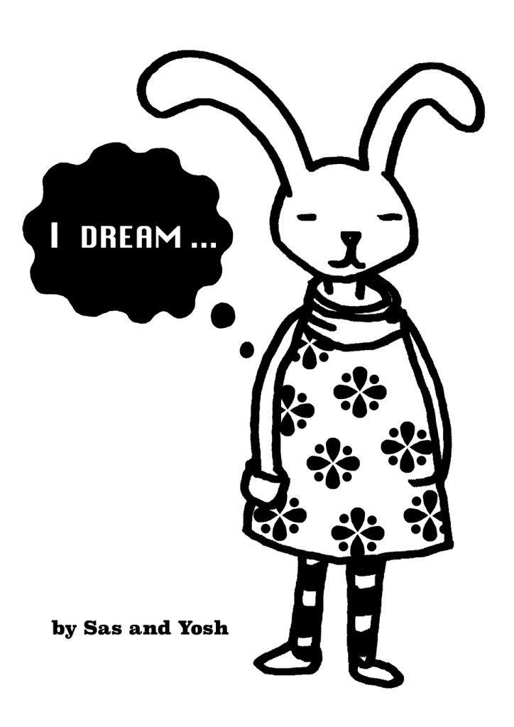 SasandYoshxJebrille Wallsticker Collection-Bunny-1
