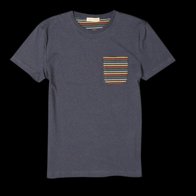 Pocket Stripes: Pockets Tees, Stripes Pockets, Pockets Stripes, Pockets T Shirts,  Tees Shirts, Men Style, Menswear Inspiration, Nice Tees, Stripes Tees