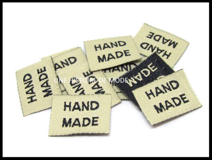 Le site vous propose un large choix d'étiquettes à coudre , rubans , écussons pour les loisirs créatifs