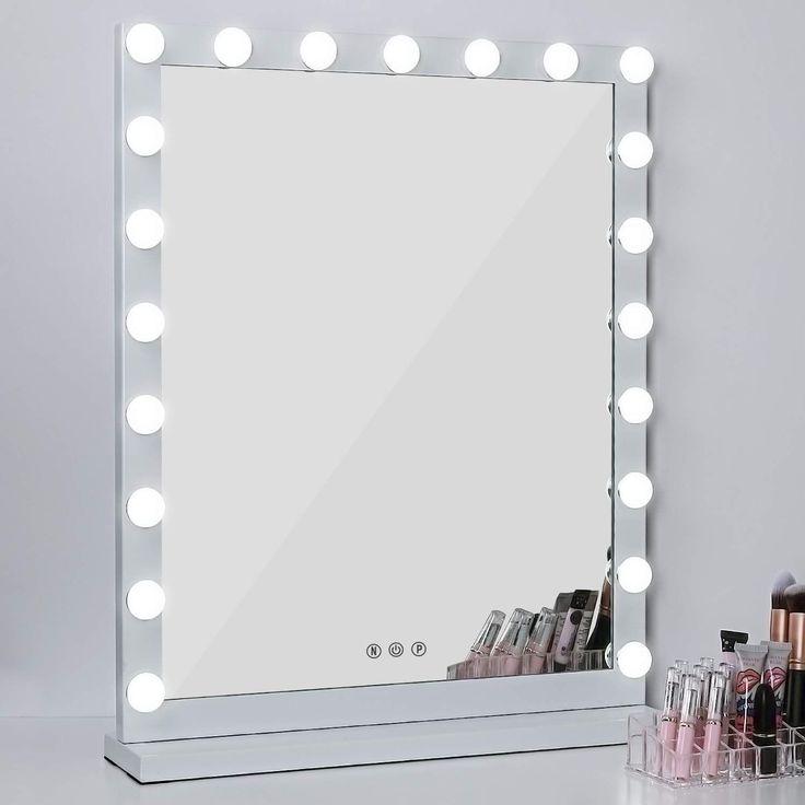 Lighted Makeup Vanity Mirror 3 Color, Makeup Mirror Light Not Working