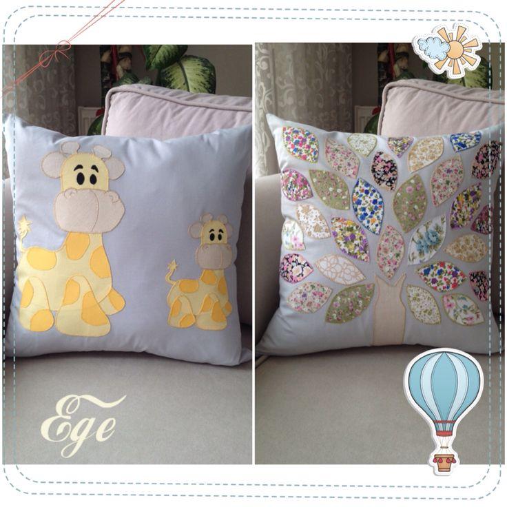 Baby Pillow ❤️ Bebek Takı Yastığı #baby #pillow #zürafa #bebek #yastık #ağaç