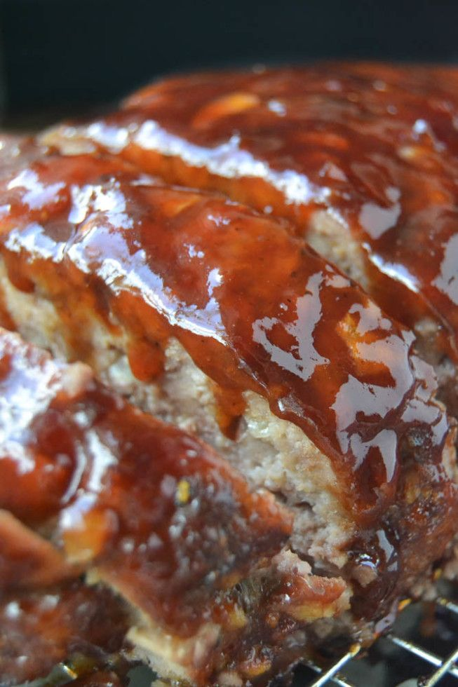 Pinning this for the glaze recipe-not the meatloaf.