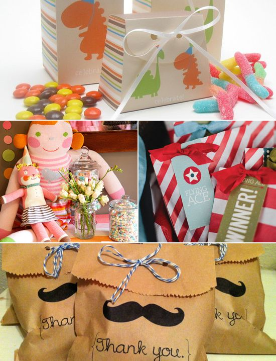 15 Fun Goodie Bag Ideas Without Candy It S Party Time Pinterest