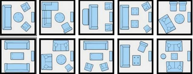 These small room furniture diagrams may help to get you started.