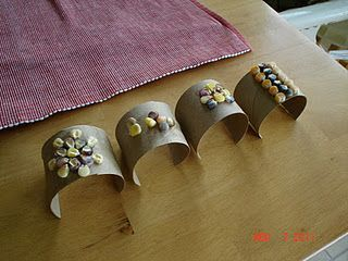 corn cuff bracelets for Native American lesson