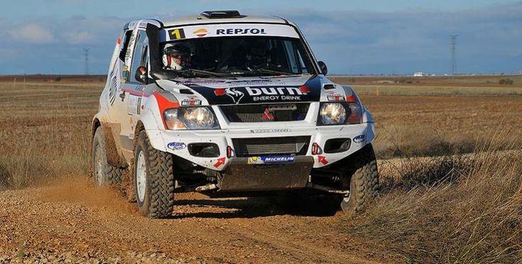 Rubén Gracia finaliza la temporada con una victoria en el Rallye TT de Guadalajara