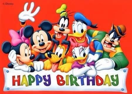 112 Best Birthday Wishes With Mickey Mouse Images On Pinterest Mickey Mouse Wishing Happy Birthday