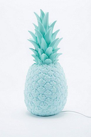 Goodnight Light - Lampe ananas avec prise européenne bleue - Urban Outfitters