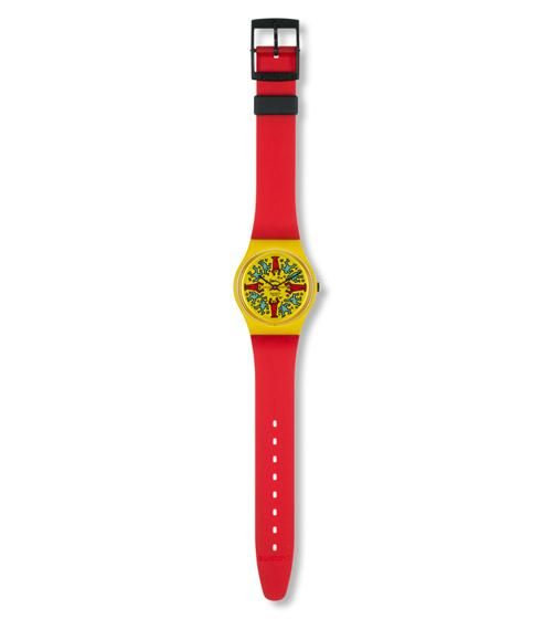 MODELE AVEC PERSONNAGES (GZ100) - Swatch International