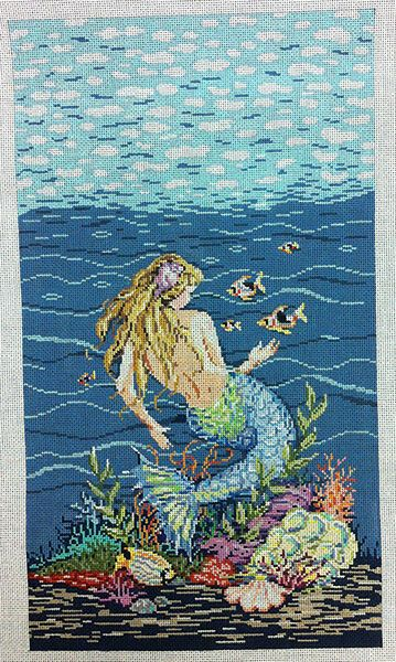 81 Best Images About Mermaid Needlepoint On Pinterest