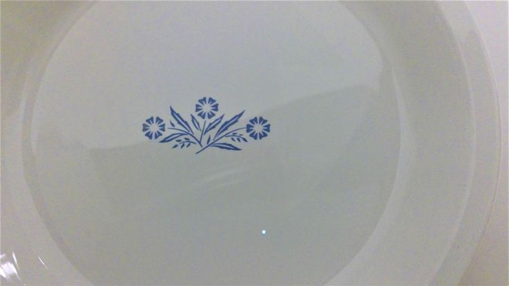 Two Cornflower Blue Corning Wear Nine Inch Pie Plates, Baking Dishes, Blue Cookware by SpencersStuff on Etsy https://www.etsy.com/listing/558174948/two-cornflower-blue-corning-wear-nine