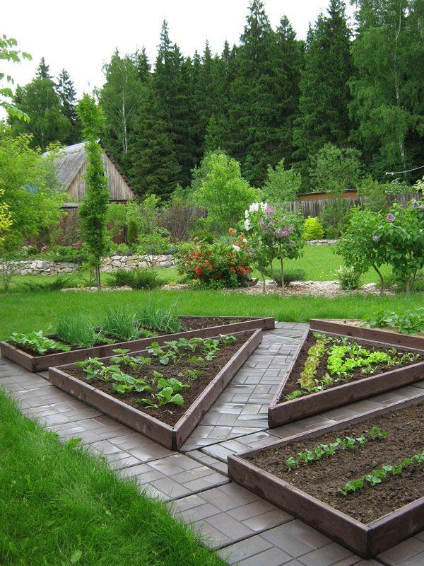 Идеи оформления декоративного огорода фото