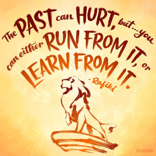 lion king disney quote
