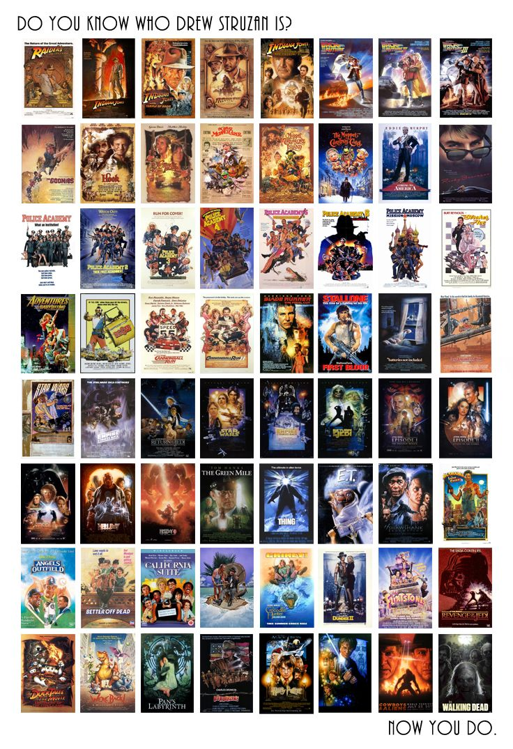 33 best ��� the movie posters of drew struzan images on