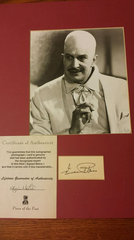 Prices of celebrity autographs