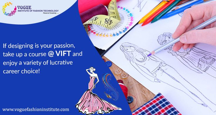 Interested in an out of the box career choice? Carpe Diem!  Now is the time to explore such different career pursuits and take up what interests you! Today, the acceptability of other career options and studies is pretty high in our country. If designing is your passion, take up a course @ VIFT and enjoy a variety of lucrative career choice! #VIT #DesignCourses