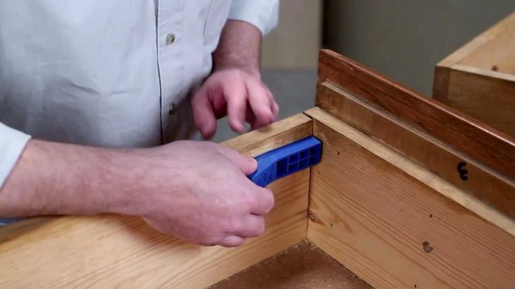 How to use the Kreg jig mini for pocket holes