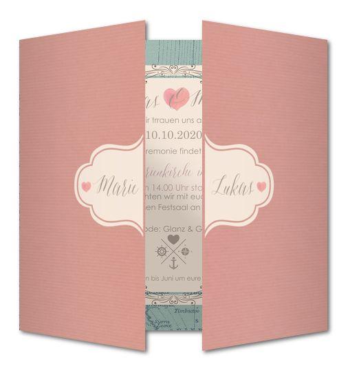 Hochzeitseinladungen: neue Karten │ Planet-cards.de  wedding ideas ...