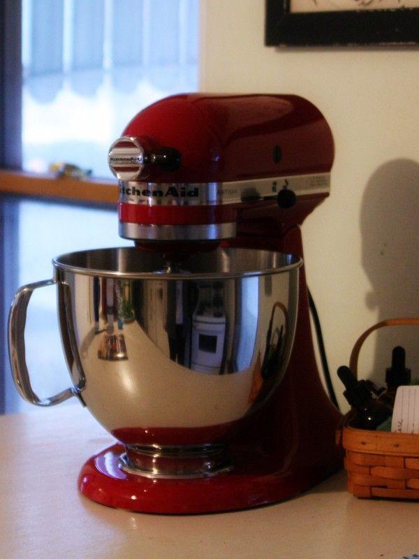 We Paid Cash: A Kitchen Aid Mixer