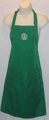 Starbucks Apron for starbucks lovers! This would be cute with a starbucks vermiso machine for Christmas!