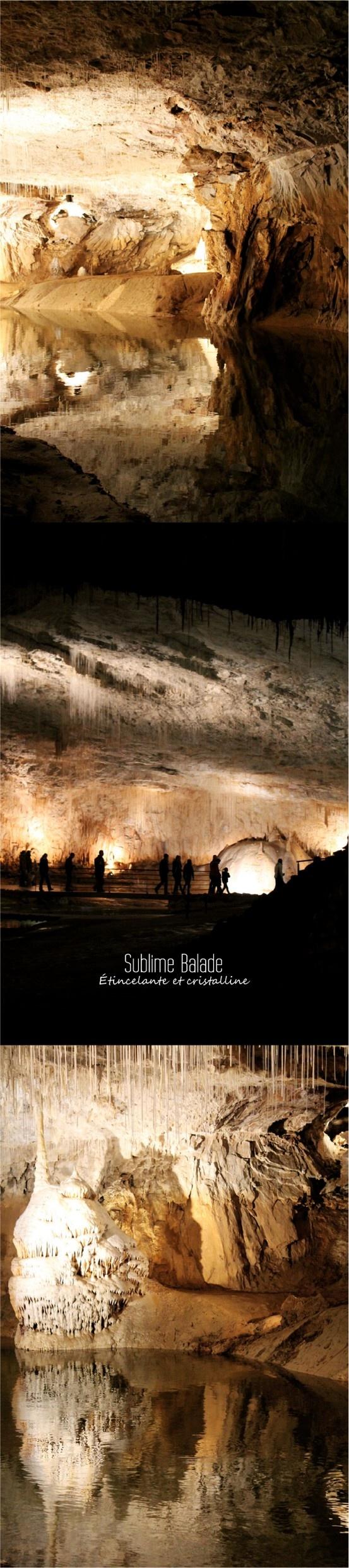 Grotte de Choranche : féérie souterraine. Drôme. France. Photo : ©Isabelle Duvivier